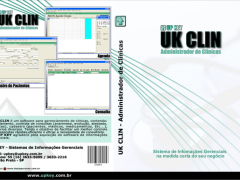 Encarte DVD do Software UK CLIN