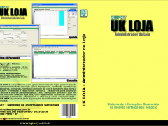 Encarte DVD do Software UK LOJA