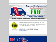 Email maketing - UK Auto Sale