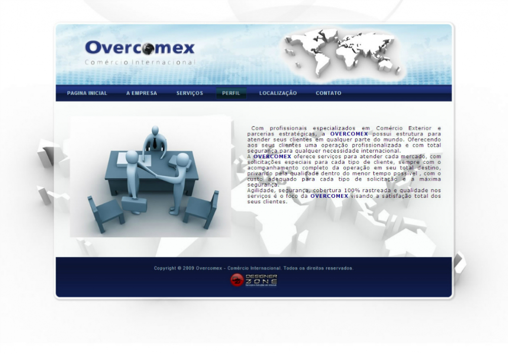 Overcomex - Sites gerenciáveis