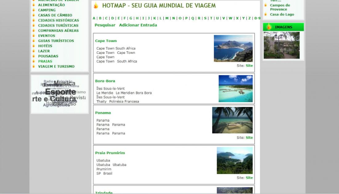 Hotmap - Guia comercial