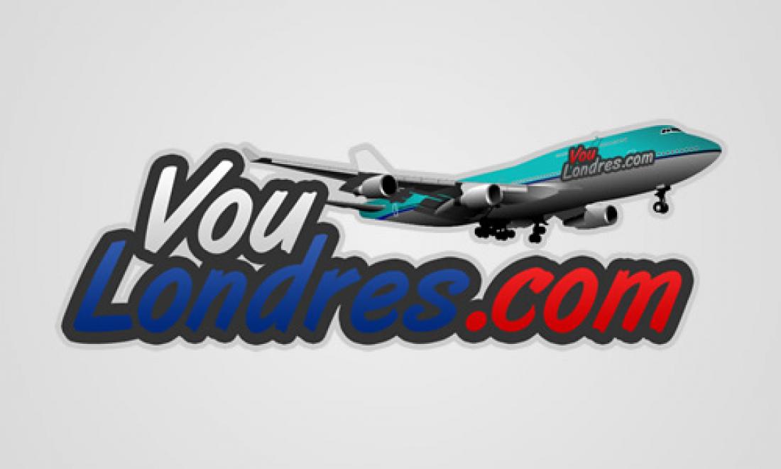 Vou Londres - Logomarca