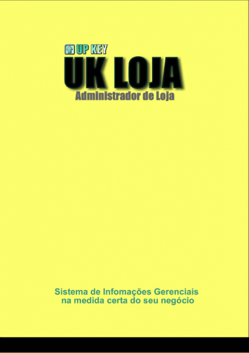 Encarte DVD do Software UK LOJA  - Designer Gráfico