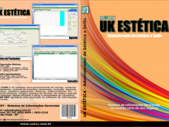 Encarte DVD do Software UK ESTÉTICA