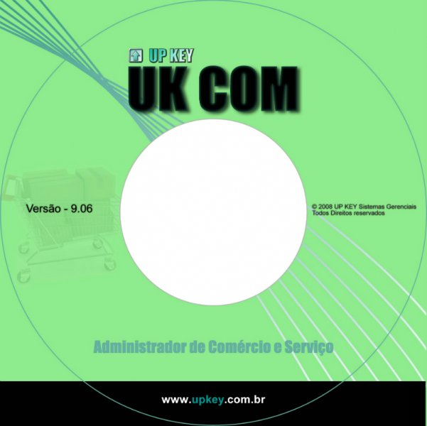 Encarte DVD do Software UK COM  - Designer Gráfico