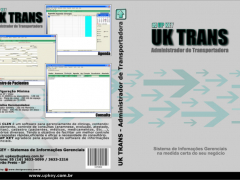 Encarte DVD do Software UK TRANS