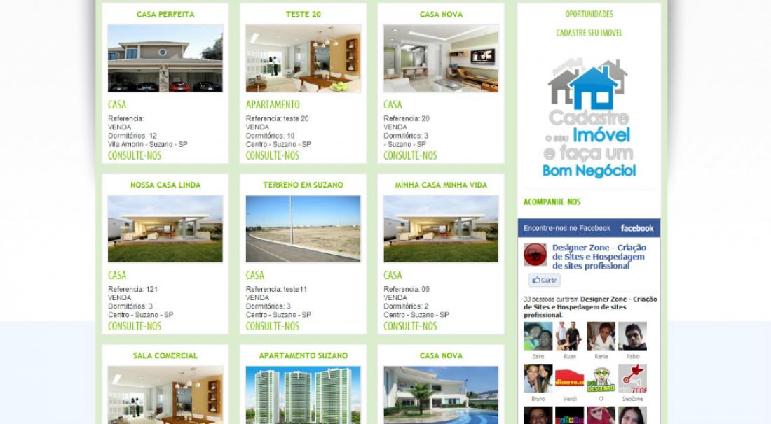 Imóveis Now - Site para imobiliária