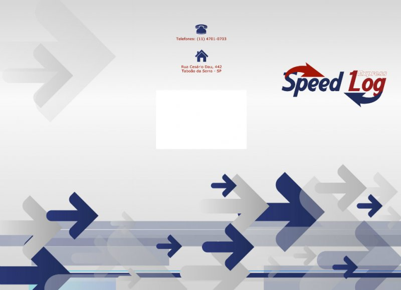 Folder com duas dobras - Speed Log Express