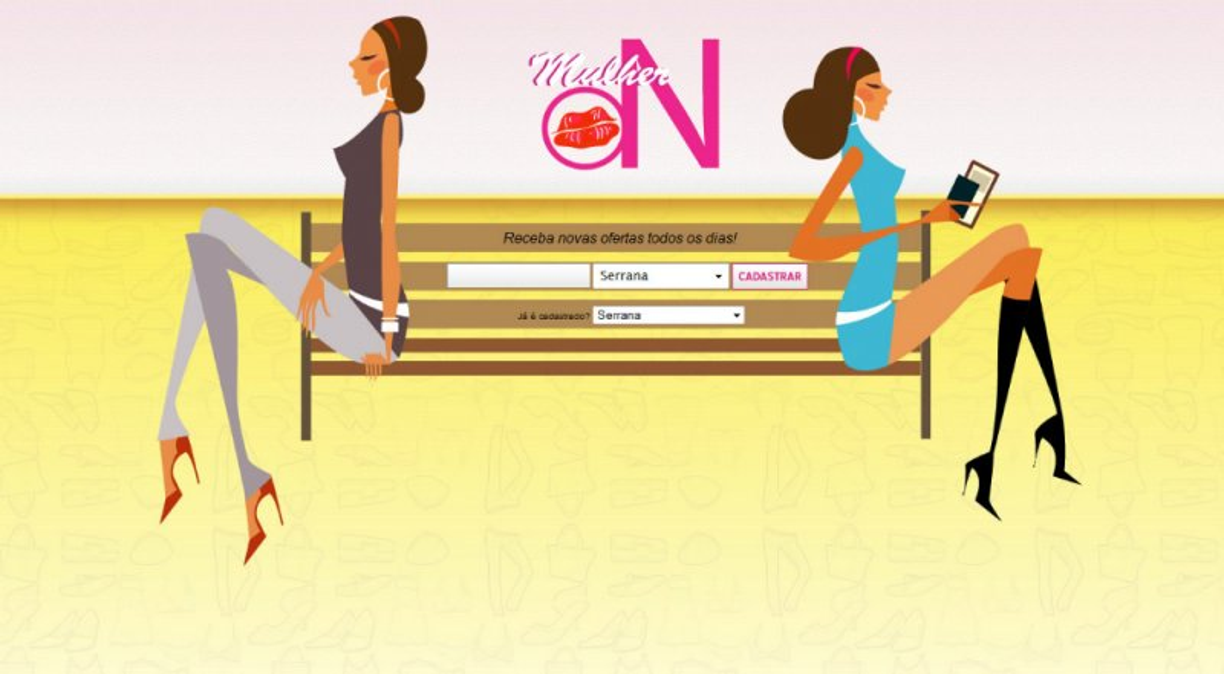 Mulher On - Site de compras coletivas