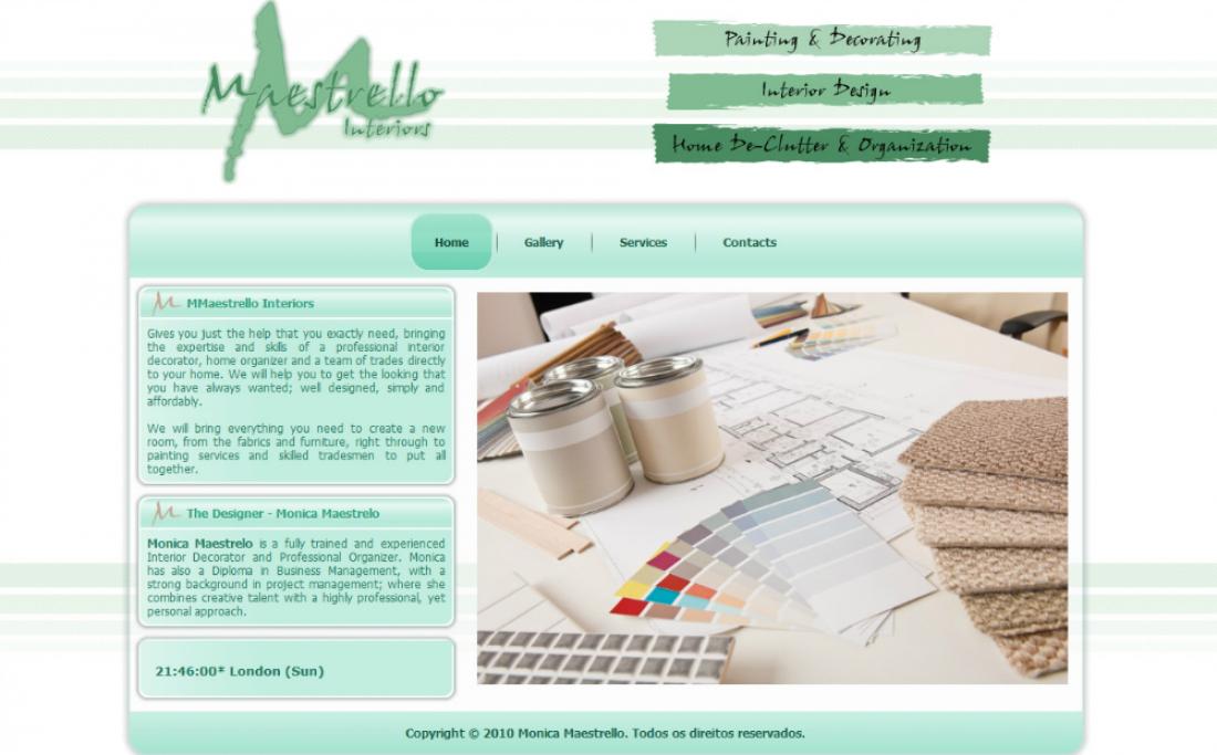 Monica Maestrello - Site gerenciável