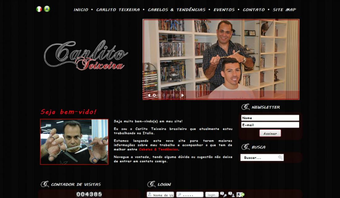 Carlito Teixeira - Site gerenciável