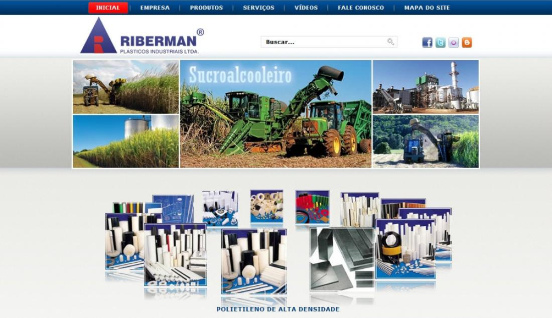 Riberman - Site gerenciável
