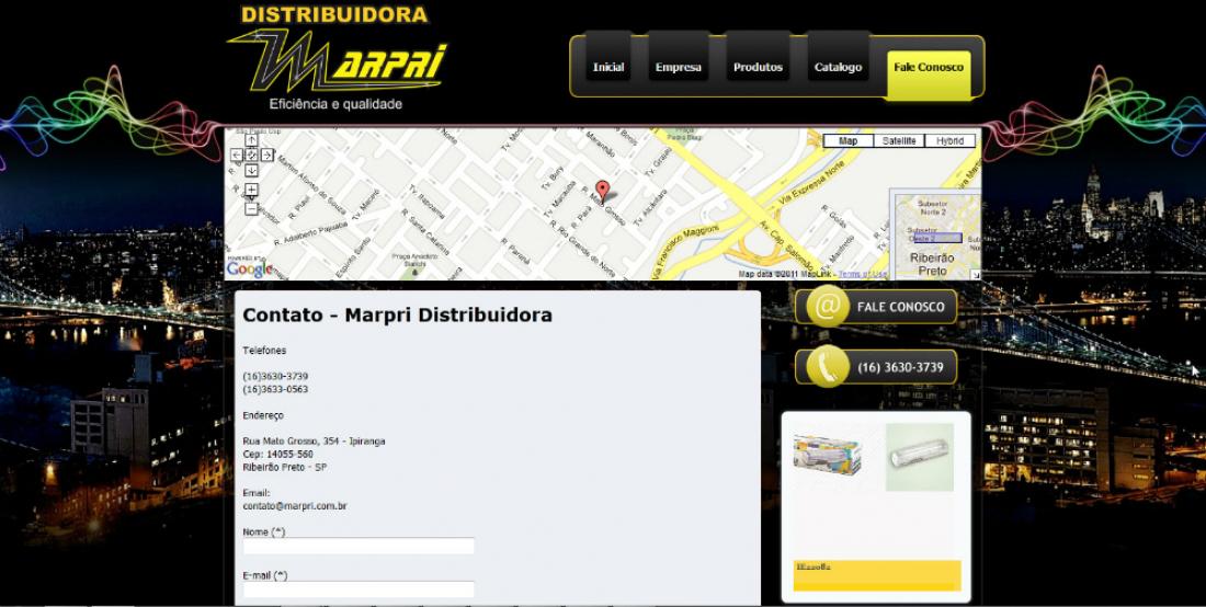 Marpri - Site Institucional